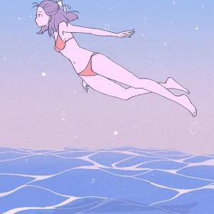 泳ぐ女の子HP